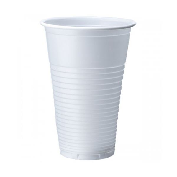 7oz Disposable White Plastic Cups