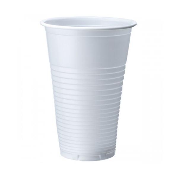 7oz Disposable White Plastic Cups