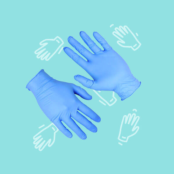 Bulk disposable gloves