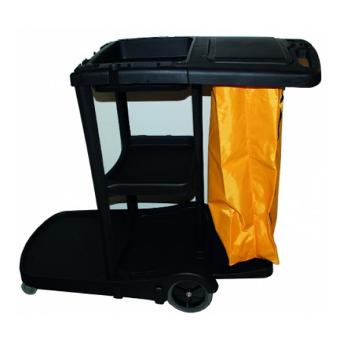 capacity janitor cleaning cart