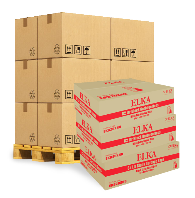 82 Litre Ultra Extra Heavy Duty Garbage Bags Pallet