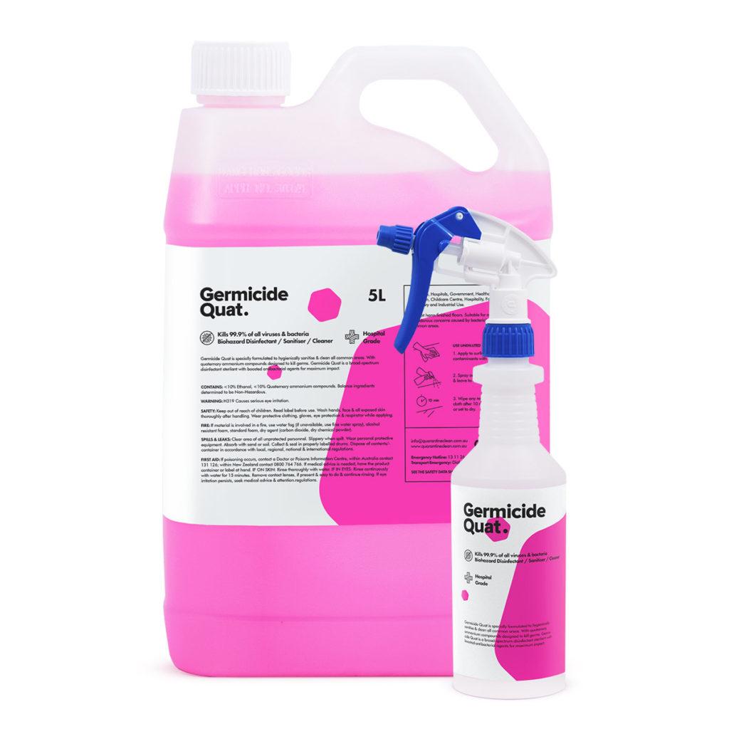 hospital grade disinfectant sanitiser